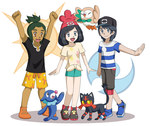Pokemon Generation 7! by FloisonKeya