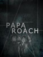 PAPA ROACH Poster by Fall-Out-Bro