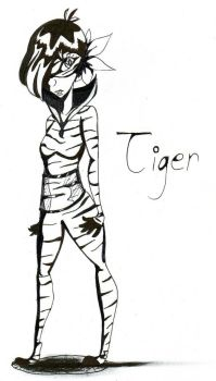 Tiger  by NieEngel