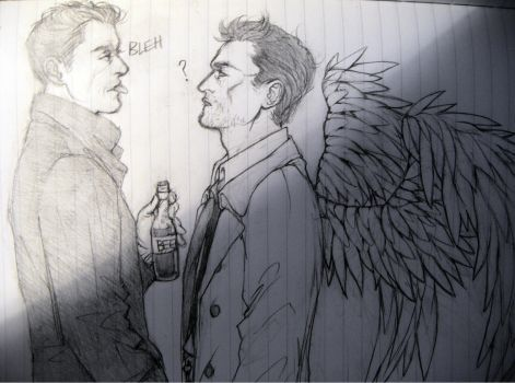 Dean/Cas by SilentandPsychotic