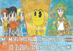 SSB4: Here My Three Favorite Newcomers Ever!! by FelixToonimeFanX360