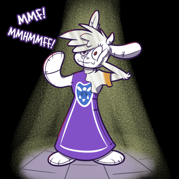 TFy Toriel Inflatable Times! by Trevor-Fox