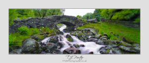 Ashness Bridge Down Stream by lemondog