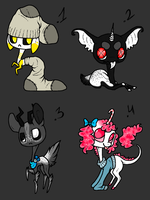 Adoptables - CLOSED by GGFOX22