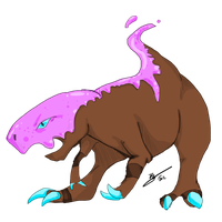 Zmaximum Fakemon Request (sorry) by Antarticuno