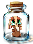 Bottle Meme Cookie Doe by queenmafdet