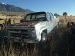 76 GMC crew cab pickup, with flames by ackpack34