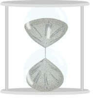 Hourglass of time by amerianna