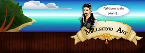Captain Hook facebook cover by IronWarrior777