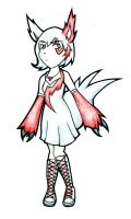 Zangoose Gijinka Adoptable: CLOSED by Prushia