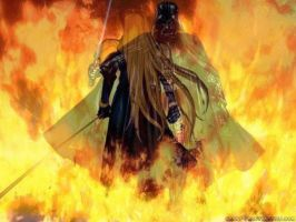 Sephiroth vs Darth Vader by Kurai-Lael