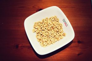 A Bowl of Cheerios by Beux-Photography