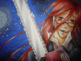 Grell Sutcliff by oOyuuchanOo