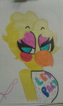 Toy Chica by gatamoon124