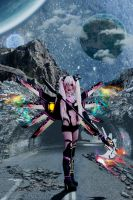 Hyperdimension Neptunia CFW Cosplay by Hekady