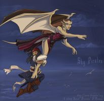 Sky Pirates -colored- by dreamie