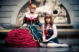 Umineko - Beatrice and Maria by LiquidCocaine-Photos