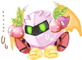 Pink Meta Knight :1 by curamix666