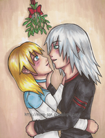 Underneath the Mistletoe by Miina-san