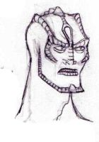 Cardassian redesign by TheMorlock