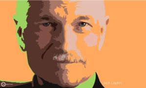 Jack Layton by Gingybreads