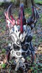 Leather Spider Queen Mask by Epic-Leather