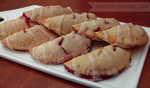 Frosted Raspberry Handpies by maytel