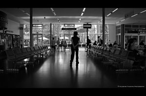 Early for Departure by Val-Faustino