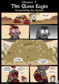 Golden Sky Hero ~ Chapter 7, Page 1 by The-Quill-Warrior