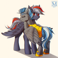 I Am So Happy To See You By Margony by Cloudzapper8