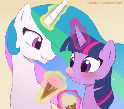 Ice Cream by Akeahi