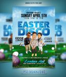 Easter Disco Flyer Template by hotflyers