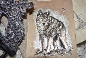 Wolf  mini - sketch by push-pulse