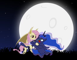Little Vamp-pony Tango - Background by Magister39