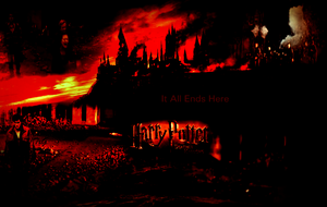 Harry Potter 7 Pt2 Wallpaper by TwilightxGirl