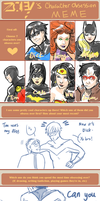 Character Obsession Meme by Colours07