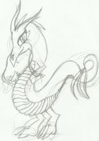 KFP OC: Dragon by Papiwolffox640