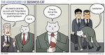 The Adventures of Business Cat - Charm by tomfonder