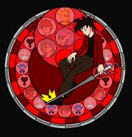 Jon's stained glass by Bioblood