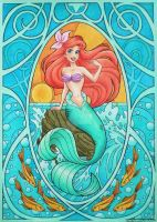 Nouveau Ariel by MichelleWalker