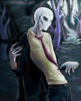 The Slender One by fledgeforthephoenix