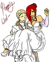 .::Happily Wed::. by EmpressOfDestruction