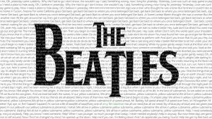 The Beatles - Typography by shimalahmed