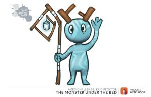 Monster Under My Bed Again by Spodness