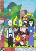 Xiaolin fighters :D by Pomiot