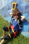 KH II - Taking a break by AriB-Rabbit