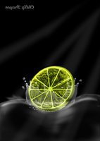 Touchpad painting (100%) - Lime by chillydragon