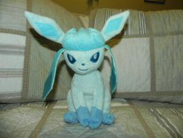 My Pokemon Plushie Collection - Glaceon by Megalomaniacaly