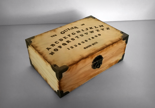 Ouija Box I by youwillfade