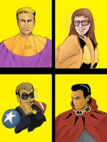 Well Watchers Watchmen commission by TeamAmazing